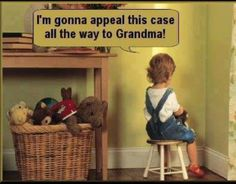 I am sure she will too....lol