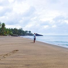 Leave only footprints. #tobago #latergram #instacaribbean
