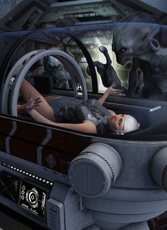 Sci-Fi Med Bed | 3D Models and 3D Software by Daz 3D