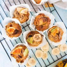 Easy & Healthy Banana Muffins – LEAH ITSINES