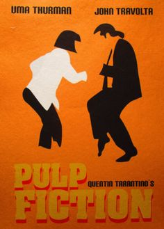 A3-SIZE-PULP-FICTION-FUNKY-DANCE-ART-PRINT-FILM-POSTER-RETRO-MOVIE