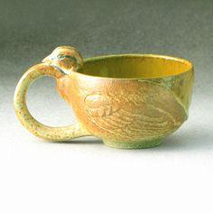 Sparrow Teacup8 of 8 by Birdartist on Etsy, $45.00