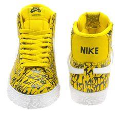 super popular 2e1a7 c1cb5 Neckface Nike SB Blazer Mid Zapatillas, Nike Sb, Sneakers Casuales, Moda  Masculina,