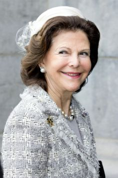 HM Queen Silvia of Sweden - April 8, 2014 - Amsterdam, The Netherlands.