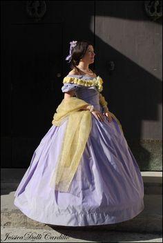 Victorian dress, 1860s  #1860s #victorian #dress #crinoline #sissi #eugenie #style #winterhalter
