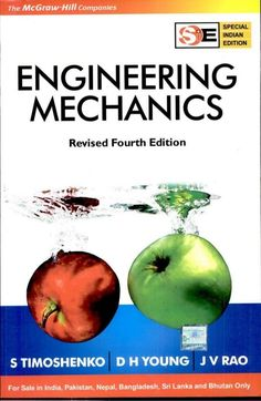 engineering mechanics pdf Book Description: Engineering Mechanics (In SI Units) (Special Indian Edition) is a textbook on the subject of engineering mechanics. It is divided into two sections, containing a total of 11 chapters. The first section is dedicated to the subject of Statics. It covers topics like concurrent forces in a plane, force systems … Mechatronics Engineering, Mechanical Engineering, Electrical Engineering, Electrical Wiring, Free Pdf Books, Free Ebooks, Personal Development Skills, T Movie, Movie List