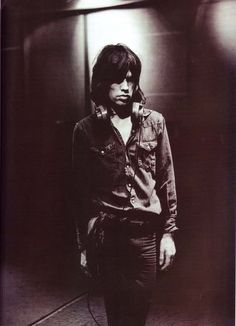 Mick Jagger - Los Angeles; January 1972 (Jim Marshall)
