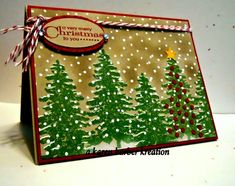 CC434 - STORMY CHRISTMAS by Karen B Barber - Cards and Paper Crafts at Splitcoaststampers