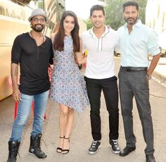 ABCD 2′s Shraddha Kapoor & Varun Dhawan are killing with their style, View Pics!