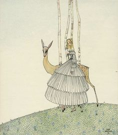 In Powder and Crinoline - Kay Nielsen