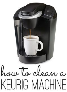 Coffee Maker Cleaning Without Vinegar : How to clean and descale your Keurig! Quick AND easy!! Need to remember this Decor Pinterest ...
