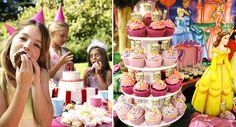 Cupcakes para festa infantil - Receita de chocolate e baunilha com cobertura buttercream