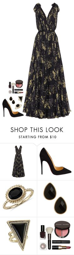 """Untitled #532"" by h1234l on Polyvore featuring Alexander McQueen, Christian Louboutin, Blue Nile, Natasha Accessories, House of Harlow 1960, Bobbi Brown Cosmetics, women's clothing, women, female and woman"