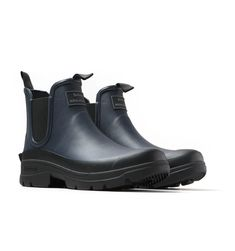 Barbour x Norse Projects Fury Navy Wellington Boots Chelsea Boots Style, Norse Projects, Wellington Boot, Barbour, Snug Fit, Rubber Rain Boots, Footwear, Pairs, Mens Fashion