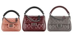 Chanel Prestige Flap Bag from Spring / Summer 2015 Act 2 Collection size comparisons