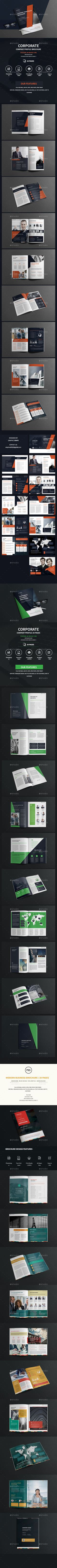 Buy Business Brochure Bundle by GraphicGrape on GraphicRiver. Business Brochure Bundle Features: 3 PSD Brochure Included File Size: cm) with bleed (The Size o. Creative Brochure, Corporate Brochure, Business Brochure, Brochure Design, Branding Design, Graphic Design Templates, Print Templates, Company Profile Design, Travel Brochure Template