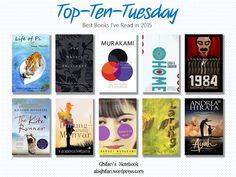 Welcome to my first ever Top Ten Tuesday! I'm really excited to join other book bloggers to write this kind of post in my blog and hopefully I'll make some more in the future. In this w…