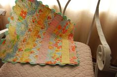 Fresh Cut Quilts Pattern Co.: Cheater Binding with Rick Rack Tutorial