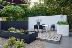 25 Modern Landscaping Ideas for 2019 [Images and Design Ideas!] design beleuchtung, 25 Modern Landscaping Ideas for 2019 [Images and Design Ideas! Landscaping With Rocks, Modern Landscaping, Backyard Landscaping, Backyard Pools, Landscaping Design, No Grass Backyard, Small Backyard Patio, Cheap Backyard Ideas, Small Garden Ideas No Grass