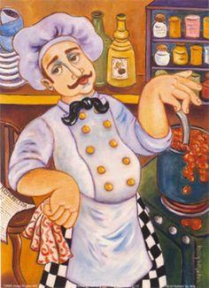 Il Chef di Padrone Art Print at AllPosters.com
