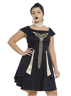 Fantastic Beasts And Where To Find Them Seraphina Dress Plus Size Dress Plus Size, Plus Size Outfits, Nerd Chic, Fantastic Beasts And Where, Latest Dress, Fit And Flare, Plus Size Fashion, Short Sleeve Dresses, Seraphina Picquery