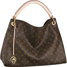 Louis Vuitton Bags Monogram Canvas Artsy MM Khaki M40249