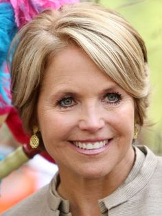 Katie Couric- Journalist and Author, first female solo news anchor