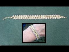 Beading4perfectionists : Stitch nr 11: Basic St. Petersburg, single and double row beading tutorial. Link download: http://www.getlinkyoutube.com/watch?v=Aq_vx48UY8s
