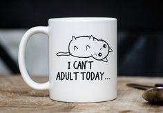 Jurassic Pug Dog Lover Park T-Rex Parody Funny Coffee Mug Tea Cup Double Sided