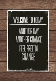 Welcome to today - the day to make a change. Hit us up at Couture Furniture today if you would like to spruce up your home. Too easy!