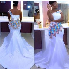 African Print Wedding Dress, African Print Dress Designs, African Wedding Attire, African Attire, African Fashion Traditional, African Inspired Fashion, Latest African Fashion Dresses, African Print Fashion, Couples African Outfits