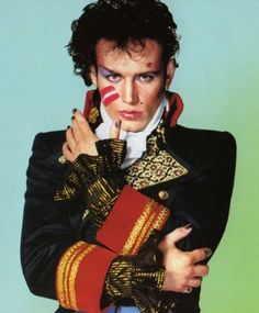 Adam Ant - so unplug the jukebox and do us all a favour! Saw him once in Soho when I was about 25 and he was beautiful.