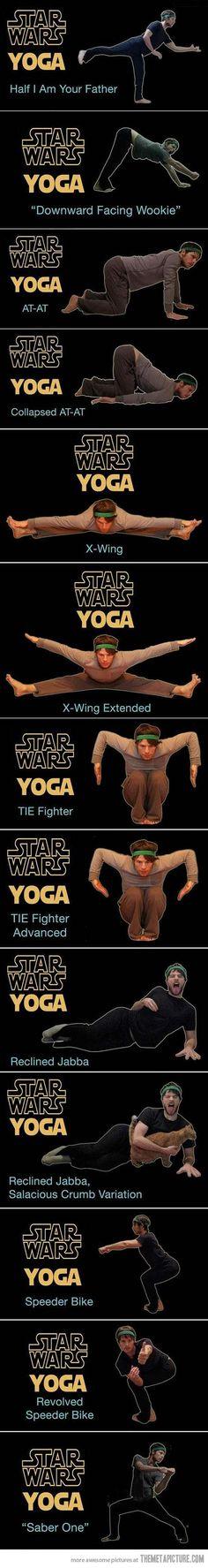 Star Wars Yoga…