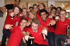 Our lovely #StudentAmbassadors #SAM #NTUSR12