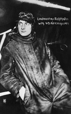 "Original caption: ""Germany c. 1917. A portrait of Lt. Manfred von Richthofen, the German ace pilot who had 40 air conquests when this photo was taken. He was the ""Red Baron"""". But actually this is Manfred Von Richthofen's younger brother Lothar."