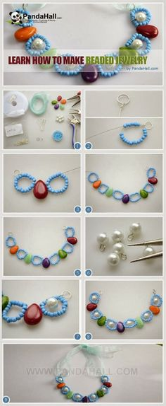 My DIY Projects: Make Beautiful Beaded Jewelry