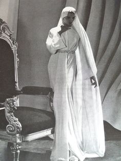1930s bridal wear, Vogue magazine