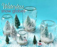 The 11 Best Mason Jar Snow Globes