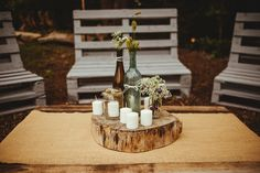 DIY barn wedding