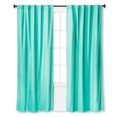 Twill Blackout Curtain Panel Aqua Float – Pillowfort , Blue Twill, Light Blocking Curtain Panels from the Pillowfort Collection brilliantly complete your child's reimagined [. Aqua Curtains, Target Curtains, Girls Bedroom Curtains, Kids Curtains, Cool Curtains, Panel Curtains, Curtain Panels, Kids Bedroom, Master Bedroom