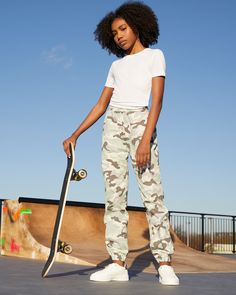 Bring Spring in: from pastel picks to pops of colour, meet the pieces that look as good as they feel New Look, That Look, Color Pop, Colour, Denim Joggers, Girls Shopping, Parachute Pants, Camo, Latest Trends