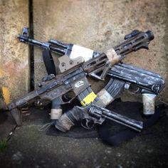#postapocalyptic #loadout #airsoft #airsofter #airsofting #gear #gun #guns #rifle #pistol #colt #python #coltpython #ak47 #honeybadger #cod #callofduty #ghosts #blackops #walkingdead #rickgrimes #custom #gunworks