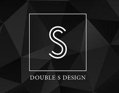 Double S Branding Design S Logo Design, Graphic Design Print, Branding Design, Monogram Logo, Monogram Letters, Logo Sketch, S Letter Logo, Fancy Writing, Sign Fonts