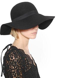 b89700f2435 LUISAVIAROMA Bella Wide Brim Wool Blend Felt Hat on shopstyle.com