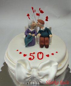 50 th anniversary - Cake by SlatkaKuca