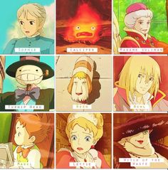 Howl's Moving Castle characters. Hahaha Heen!! I guess that's his name cause that's all he said :)