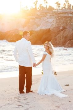 Photography : Cali Frankovic Photography Read More on SMP: http://www.stylemepretty.com/destination-weddings/mexico-weddings/2016/07/05/hurricanes-forced-this-couple-to-postpone-their-wedding-three-times-but-it-was-so-worth-it/