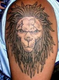 52ae5e358 Lion Tattoo Design, Tattoo Designs, Lion Shoulder Tattoo, Face Outline,  Roaring Lion