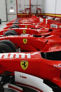 Ferrari Factory.  F1 Department.