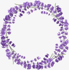 Lavender wreath PNG and Clipart Flower Frame, Flower Art, Christmas Mesh Wreaths, Winter Wreaths, Spring Wreaths, Summer Wreath, Provence Lavender, Lavender Wreath, Wreath Drawing